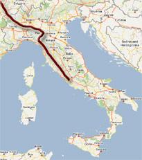 Via Francigena Pilgrim route