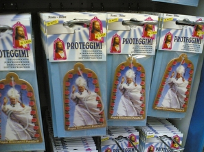 Pope air freshener