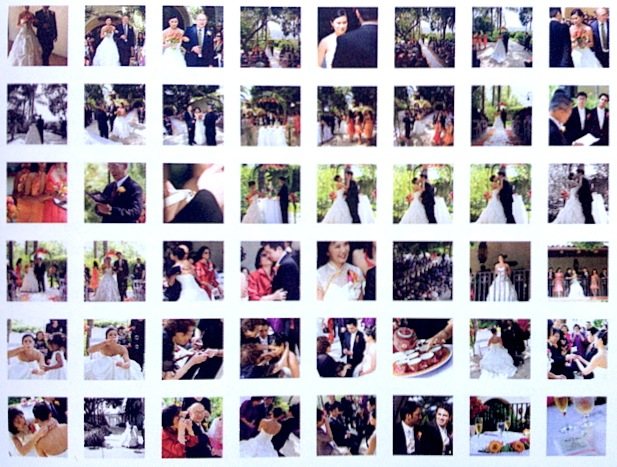 Proving a point about data with the author's wedding photos.