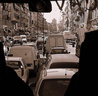 Milan traffic